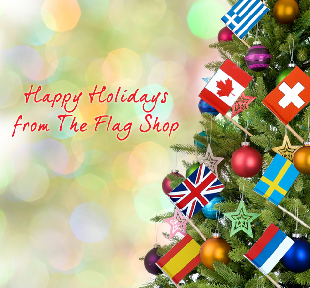 Happy Holidays from The Flag Shop