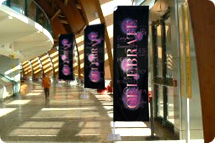 Banner Stands, Gamma Banner Stands