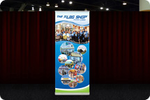 Banner Stands, Retractable Banner Stands, Trade Show Banner Stands