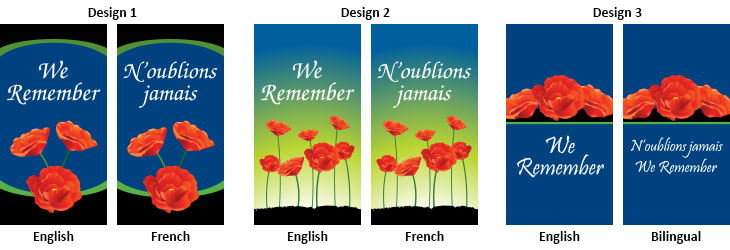 Remembrance Day Street Banners