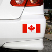 Canada Flag Decals, Canada Stickers, Canadian Flag Decals