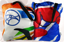 Banner to Bag, Fabric Bags, Nylon Bags