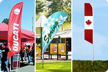 Feather Flags, Wind Flags, Feather Banners, Feather Banner Stands