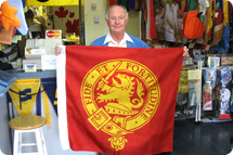 Personalized flags, custom flags