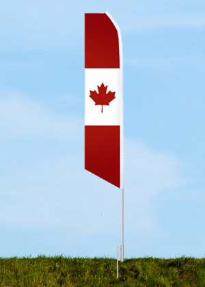 Canada flags, Canada feather flags, Canada flag, flag of Canada, Feather flags, Quillflags, Wind flags