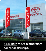 Feather Flags for Car Dealerships