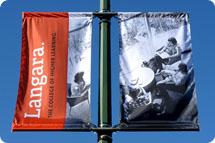 Langara College Street Banners