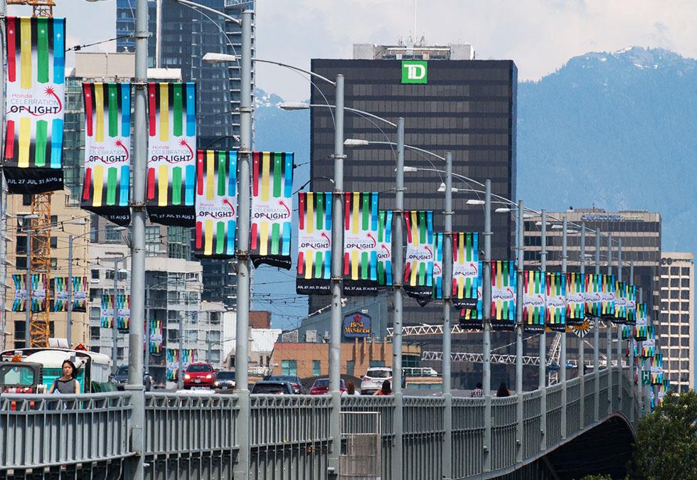 Celebration of Lights Street Banners