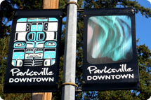 Parksville BIA Street Banners