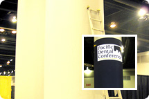 Pillar Wraps, Column Wraps, Trade Show Banners