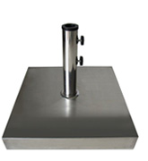 Stainless Steel Square Base for wooden and aluminum umbrellas