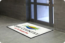Logo mats, logo carpet, custom mats, logo matting