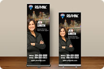 Tradeshow banners, Retractable Banners